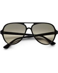 Ray-Ban Iconic Cats 5000 Aviator Sunglasses - Lyst