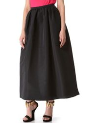 RED Valentino Faille Full Skirt - Lyst