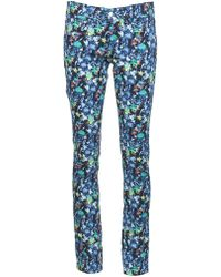 Roseanna Cotton Skinny Jeans - Blue