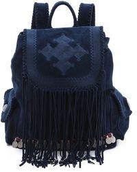 Simone Camille Skylar Backpack - Blue