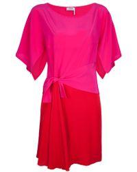 Sonia by Sonia Rykiel Colour Block Dress - Pink