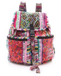 Stela 9 - Santiago Patchwork Backpack - Lyst