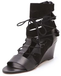 Surface To Air - Deedra Wedge Sandals - Lyst