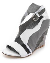 Surface To Air - Jivan Wedge Sandals - Lyst