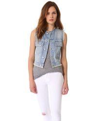Textile Elizabeth and James - Dest Sid Vest - Lyst