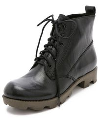 Theyskens' Theory - Yasmin Lace Up Booties - Lyst