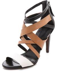 Vera Wang - Hinda Strappy Sandals - Lyst