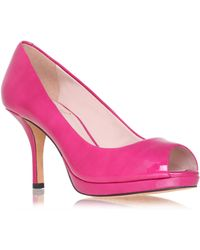 Vince Camuto Kendall Peep Toe Shoes - Pink