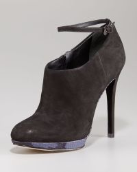 B Brian Atwood Womens Snakesole Ankle Bootie - Lyst