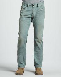 Diesel Safado Green Jeans 32l - Lyst