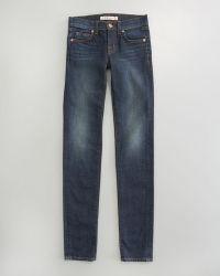 J Brand Skinny Dark Vintage Jeans - Lyst
