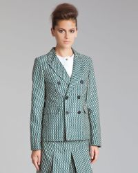 Marni Fitted Double Breasted Jacket - Lyst