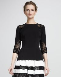 Nha Khanh - Womens Double-faced Georgette Top - Lyst