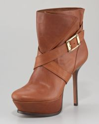 Rachel Zoe Michelle Platform Leather Boot - Lyst