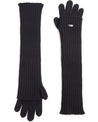 Armani - Wool Gloves - Lyst
