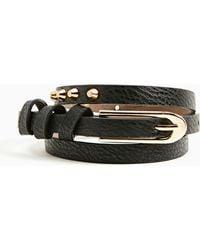 Nasty Gal | Tough Stud Skinny Belt | Lyst