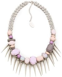 Adia Kibur - Stone Necklace - Lyst
