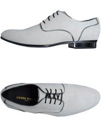 Balmain Laced Shoes - Gray