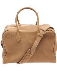 Balmain Duffle Bag - Brown