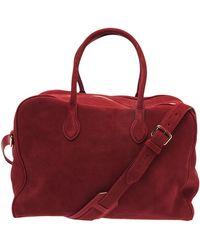 Balmain Duffle Bag - Red