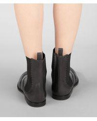 Bottega Veneta Ardoise Calf Boot - Black