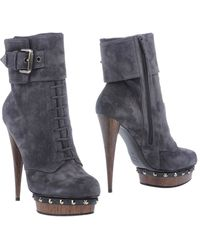 Le Silla Ankle Boots - Lyst