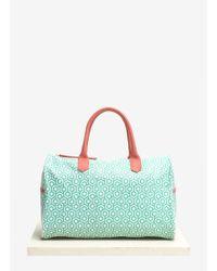 Mischa | Overnighter Printed Top-handle Bag | Lyst