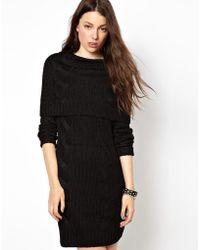 Cheap Monday Cable Knit Dress - Black
