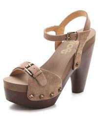 Flogg - Cassie Ii Chunky Sandals - Lyst