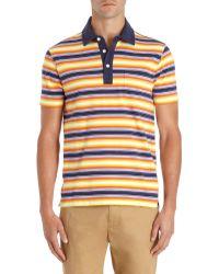 Jack Spade - Multicolored Striped Polo - Lyst