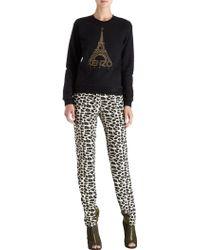 KENZO - Eiffel Tower Sweatshirt - Lyst