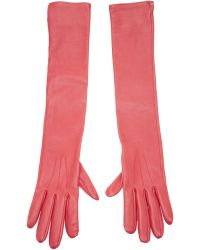 Lanvin Opera Gloves - Purple