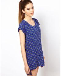 Olivia Rubin - Chain Print Tunic Dress - Lyst