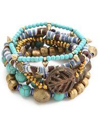 Vanessa Mooney Misty Mountain Bracelet Set - Lyst