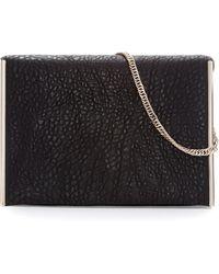Zara City Bag with Metallic Decorative Detailing - Lyst