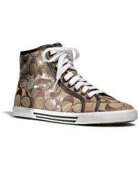 COACH Kandice Sneaker - Natural