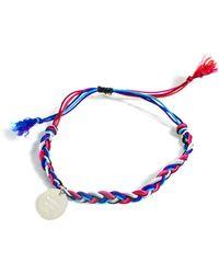 La Mome Bijou - There'S A Starman Friendship Bracelet - Lyst