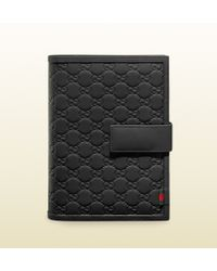 Gucci Rubber Guccissima Leather Notebook and Smartphone Case - Lyst