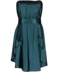 Bgn Short Dress - Lyst