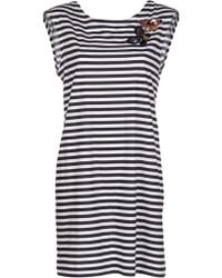 Sonia by Sonia Rykiel Butterfly and Stripe Top - Black