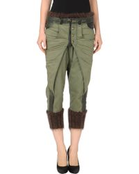 Sonia Villa 34length Trousers green - Lyst