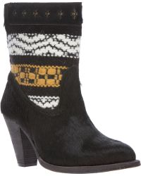 Cobra Society Black Canon Boot - Lyst
