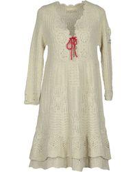 Odd Molly Short Dress white - Lyst