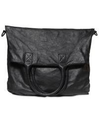Giorgio Brato - Super Oiled Nappa Leather Tote Bag - Lyst