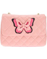 Moschino Cheap & Chic Quilted Butterfly Shoulder Bag - Lyst