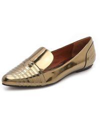Rebecca Minkoff Iva Flat Loafers - Metallic