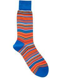 Thomas Pink - Desert Stripe Socks - Lyst