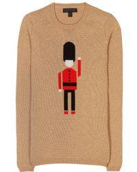 Burberry Prorsum - Intarsia Cashmere Sweater - Lyst