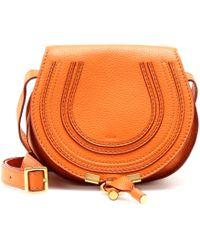 Chloé Marcie Small Leather Shoulder Bag - Lyst