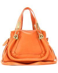 Chloé Paraty Mini Leather Shoulder Bag - Lyst